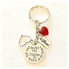 You're My Person You Will Always Be My Person Grey's Anatomy Charm Keychain Gift