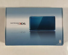 2011 Nintendo 3Ds Aqua Blue Console With Box And Game Used Works