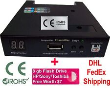 Floppy Drive to USB Converter for Charmilles Roboform Robofil+8GB PenDrive (720)