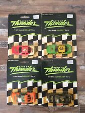 Lot 4 Vintage DAYS OF THUNDER 1/64TH Diecast 1990 Nascar Racing Champions  NOS