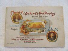 1893 Columbia Exposition Souvenir Catolog.