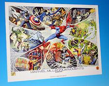 Marvel Millenium Moments Lithograph Rubinstein Estes Smith Comics Spider-Man