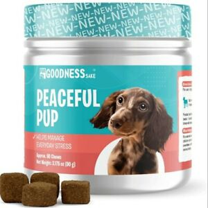Dog Calming Chews, Anxiety, Stress, Hyperactivity, Aggression & Nervousness USA!