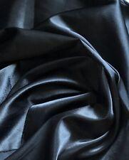 """Vestido De Novia 1 X Medidor Negro//Oro Brillo Satinado De Tela 58/"""" de ancho"""