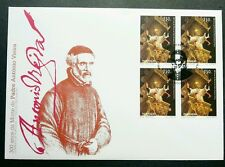 Portugal Brazil Joint Issue 300th Anniv Father 1997 (FDC) *rare
