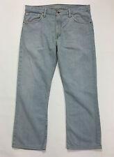 Levis 507 w34 tg 48 men jeans uomo vintage dritto levis azzurro blu boyfriend