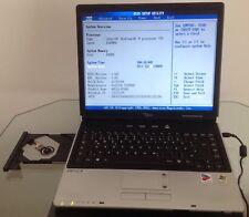 Notebook Fujitsu siemens amilo m7405 Intel m Centrino 715 1,5ghz para para aficionados al bricolaje