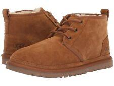 Para mujeres Zapatos De Gamuza Ugg Botas al tobillo con Cordones neumel 1094269 Castaño