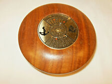 50 YEAR Nautical PERPETUAL CALENDAR Hand crafted Wood Paperweight 2000-2049