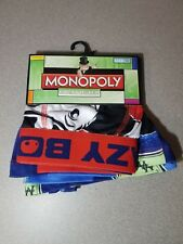 Crazy Boxer Monopoly Mens Briefs Sizes 40-42 XL New with tags Free Shipping