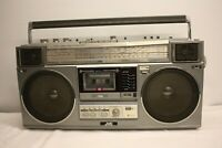 JVC RC-M50JW STEREO RADIO CASSETTE RECORDER PORTABLE BOOMBOX VINTAGE