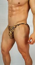 MEN'S ANIMAL PRINT POSING SUIT TRUNKS BODYBUILDER Muscle  $54.00 MEDIUM