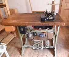Vintage Industrial Electric Overlocker Sewing Machine Willcox & Gibbs