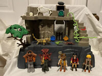 Playmobil Set 4842 Treasure Temple with Guards Retired Incomplete