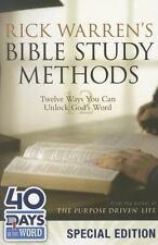 Rick Warren's Bible Study Methods: 40 Days in the Word Special Edition:Twelve 73