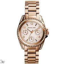Michael Kors MK5613 Reloj de mujer acero inoxidable color: Oro Rojo con cristal