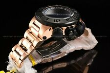 Invicta Men 52mm Specialty Subaqua Noma Chrono Black Rose Gold Plated SS Watch