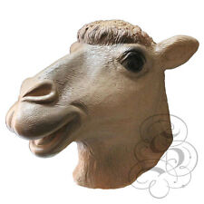 Lattice Animale Domestico capo completo CAMEL di alta qualità costume di scena Party maschere