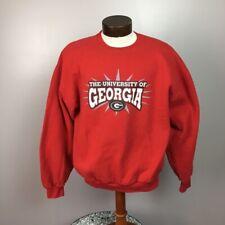 University of Georgia crew neck sweatshirt