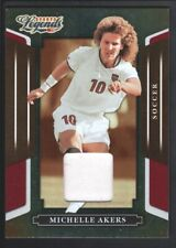 MICHELLE AKERS 2008 DONRUSS AMERICANA SPORTS LEGENDS #33 GAME JERSEY 79/500 SP