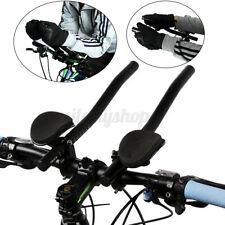 Road Mountain Cycling Bike Bicycle Alloy Triathlon Rest Handle Bar Handlebar AU