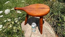 VTG Handmade Milk Stool BEAUTY Amana IA Furniture SIGNED Farmhouse Int. Design