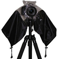 New Camera Rain Cover Rainproof Dust Protector For SLR Digital Camera Black