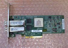 Dell QLogic QLE8152 10GbE SFP+ PCIe Dual Port HBA 10Gb/s FCoE NIC D001N + 2x SFP