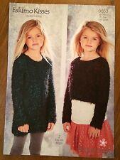 "Stylecraft Eskimo Kisses DK Knitting Pattern 9053 Girls Jumper 22""-30"" (1560)"