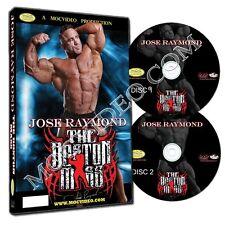 JOSE RAYMOND THE BOSTON MASS 2 DISC DVD! IFBB MR OLYMPIA BODYBUILDING BEEF! A+++
