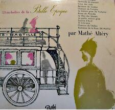 ++MATHÉ ALTÉRY l'anneau d'argent/roses de picardie/sourire d'avril LP PATHÉ VG++