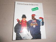 Quaderno Anelli United Colors Benetton 2 SCHOOL Scuola Ring Binder Vintage