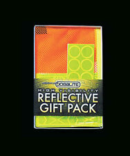 Jogalite Runner Run Reflective Vest Safety Gift Pack Leg Bands Tape Hot Spots