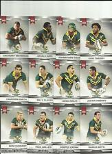 2012 NRL RUGBY LEAGUE ESP LIMITED EDITION AUSTRALIA TEST TEAM SET 12 CARDS