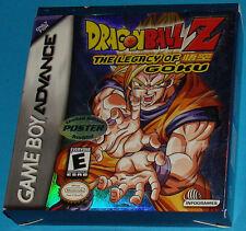 Dragon Ball Z - The Legacy of Goku - Game Boy Advance GBA Nintendo - USA