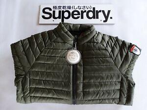 Superdry Lightweight Core Down Jacket - Khaki, M50005DP - BNWT