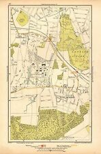 1933 LONDON MAP-WEST WICKHAM, LANGLEY PARK, ROYAL BETHLEHEM HOSPITAL