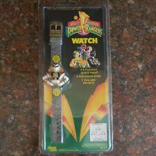 Mighty Morphin Power Rangers Watch Gold Ranger Vintage 1993 Nrfp