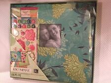 """K&Company 12 X 12"""" Sweet Nectar Scrapbook Kit 106 Pieces New in Sealed Box"""