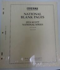 Scott National blank pages stamp collection NEWunopened pack 20 ACC120 Border B