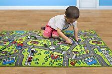 "Street Cars Vehicles Play Rug Kids Toy Play Mat Boys Nursery Playmat Home 60x32"""