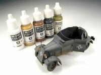 Vallejo Model Color 17ml Bottles Matte & Opaque Range of Acrylic Shades & Colors