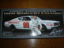 #98 Leeroy Yarbrough 1969 Mercury WINEBARGER MOTORS 1/24 NASCAR Legends IN STK
