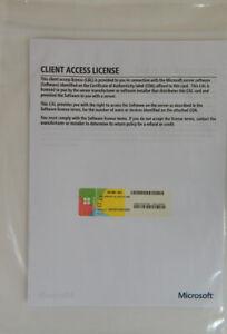 HP Microsoft SQL Server CAL 2014 5USR License 841186-B21 5-User 841200-B21