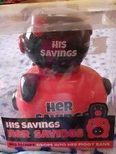 HIS & HERS SAVINGS PIGGY BANK