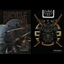 Bicycle feudale SAMURAI Deck by Crooked Kings poker carte da gioco