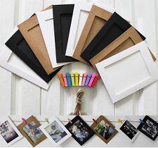 "10PCS/Lot  3"" Cute Paper Photos Frame Film Memorial Photo&Picture Album Home Dec"