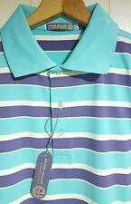 Peter Millar Crown Sport Polo Shirt Mens Large NWT Green