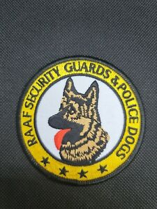 RAAF Security Guards & Police Dogs Patch (Obsolete)