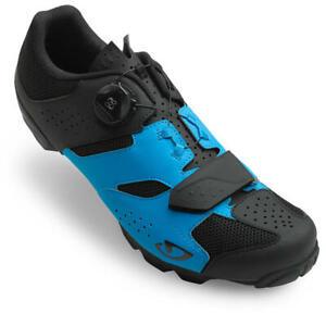 GIRO CYLINDER MTB CYCLING SHOES 44 EU / 10.5 US, BLUE/BLACK, NEW IN BOX
